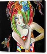 Reina De Los Angelitos Canvas Print