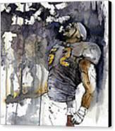 Release The Ravens Canvas Print by Michael  Pattison
