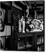 Religion And The Curio Shop Canvas Print