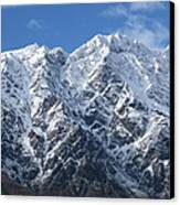 Remarkables Mountains  Canvas Print by  Lines