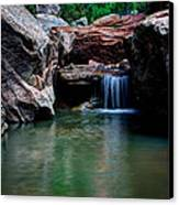 Remote Falls Canvas Print