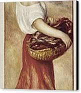 Renoir, Pierre-auguste 1841-1919. Girl Canvas Print by Everett