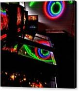 Replicant Arcade Canvas Print by Benjamin Yeager