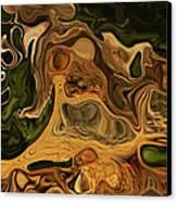 Reptilian Ball Canvas Print