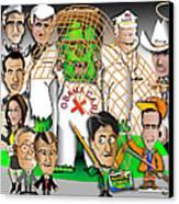 Republicans Net Frankenstein Monster Canvas Print by Dan Youra