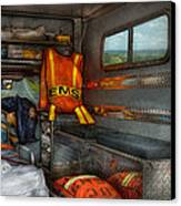 Rescue - Emergency Squad  Canvas Print by Mike Savad