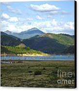 reservoir of Riano Leon Spain Canvas Print by Stefano Piccini