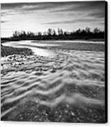 Restless River IIi Canvas Print by Davorin Mance