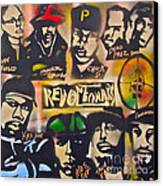 Revolutionary Hip Hop Canvas Print