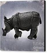 Rhinoceros Canvas Print by Bernard Jaubert