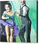 Rhythm Of The Night Canvas Print by Judy Kay