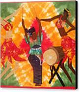 Rhythms Canvas Print by Aisha Lumumba