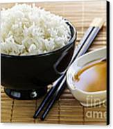 Rice Meal Canvas Print by Elena Elisseeva