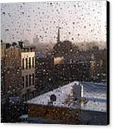 Ridgewood Wet With Rain Canvas Print by Mieczyslaw Rudek Mietko
