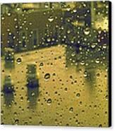 Ridgewood Wet With Rain St Matthias Roman Catholic Church Canvas Print