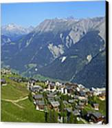 Riederalp Valais Swiss Alps Switzerland Canvas Print by Matthias Hauser