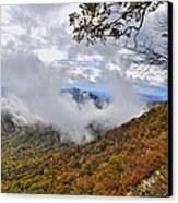 Ring Around The Mountain Canvas Print