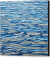 Ripples On A Scottish Loch Canvas Print by Tim Gainey