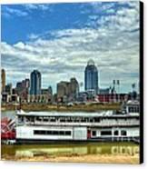 River City Canvas Print by Mel Steinhauer