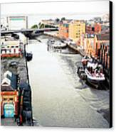 River Hull Canvas Print by Anthony Bean