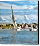 River Rother Canvas Print by Sharon Lisa Clarke