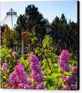 Riverfront Park Lilac Canvas Print by Dan Quam