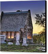 Riverside Cemetery Canvas Print