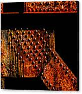 Rivets Number Two Canvas Print by Bob Orsillo