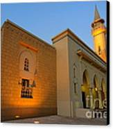 Riyadh Mosque Canvas Print by George Paris