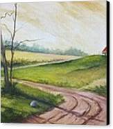 Road To Heaven  Canvas Print by Jolyn Kuhn