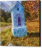 Roadside Shrine Canvas Print by Mo T