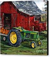 Rob Smith's Tractor Canvas Print by Lee Piper