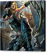 Robyn Hood 05a Canvas Print by Zenescope Entertainment