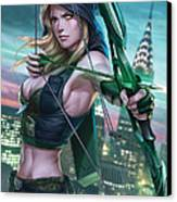 Robyn Hood Wanted 01a Canvas Print by Zenescope Entertainment