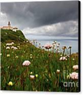 Roca Lighthouse Canvas Print
