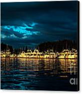 Roche Harbor  At Sunset Canvas Print