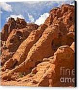 Rock Formations In The Valley Of Fire Canvas Print