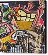 Rock Soggy Canvas Print