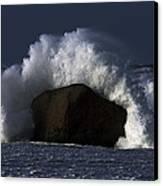 Rock V Wave II Canvas Print