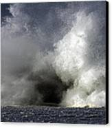 Rock V Wave Iv Canvas Print by Tony Reddington