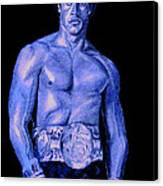 Rocky Blue Canvas Print by Michael Mestas