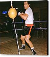 Rocky Marciano Training Canvas Print