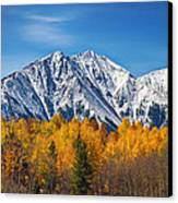 Rocky Mountain Autumn High Canvas Print by James BO  Insogna