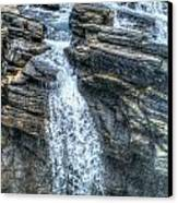 Rocky Mountain Falls Canvas Print