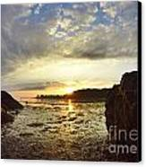 Sunrise Canvas Print by Stephanie  Varner