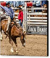 Rodeo Ride Canvas Print