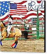 Rodeo Canvas Print by Terry Cotton