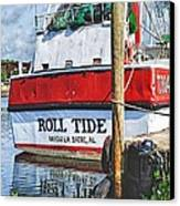 Roll Tide Stern Canvas Print