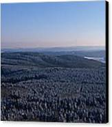 Rolling Hills And Forests Canvas Print by Ulrich Kunst And Bettina Scheidulin