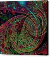 Roly Poly Canvas Print by Mike Turner